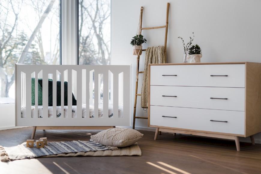 Dutailier Lollipop Crib & Dresser