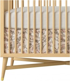 DwellStudio Vintage Blossom Crib Skirt