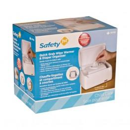 Chauffe-lingettes et Compartiment a couches de Safety 1st