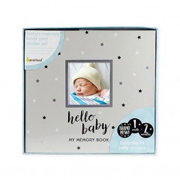 Livre de Photo et Collants Hello Baby de Pearhead