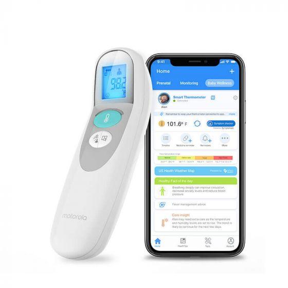 Thermometre sans contact Connecté de Motorola