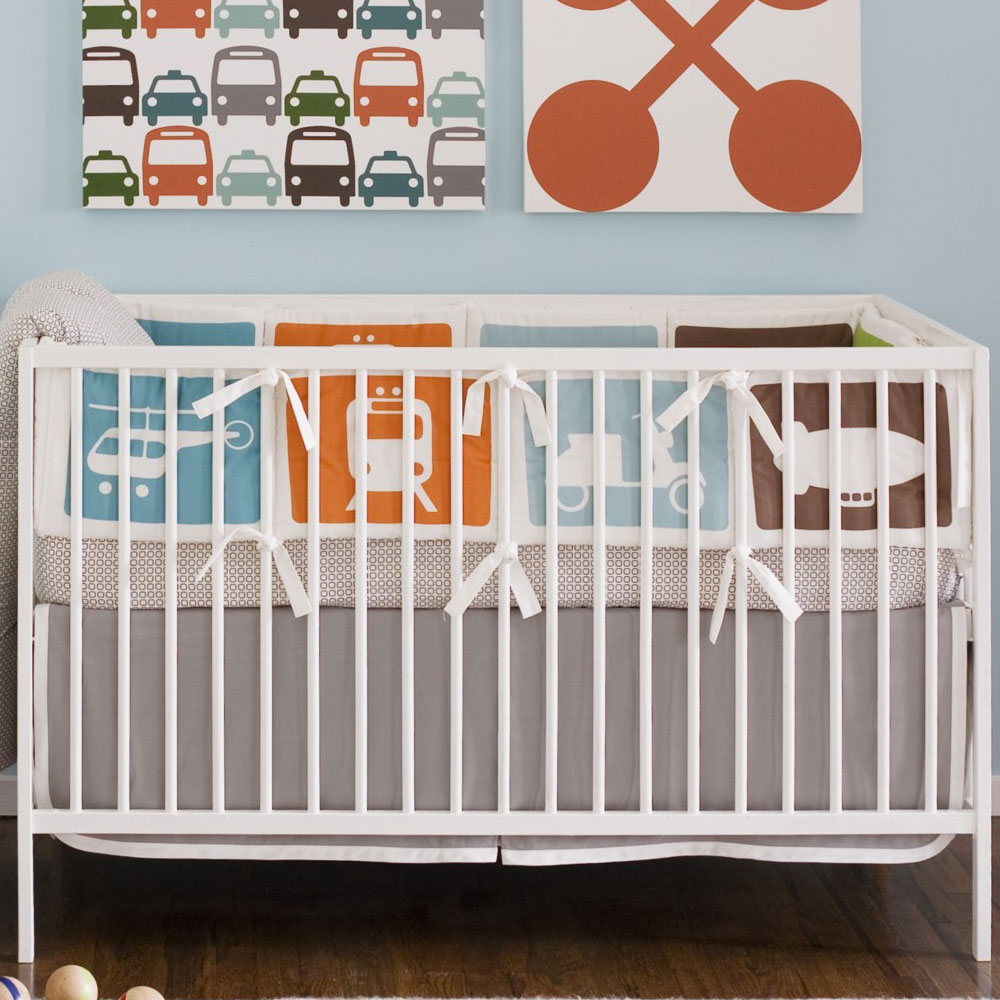 Dwell Studio Crib Bedding - Transportation