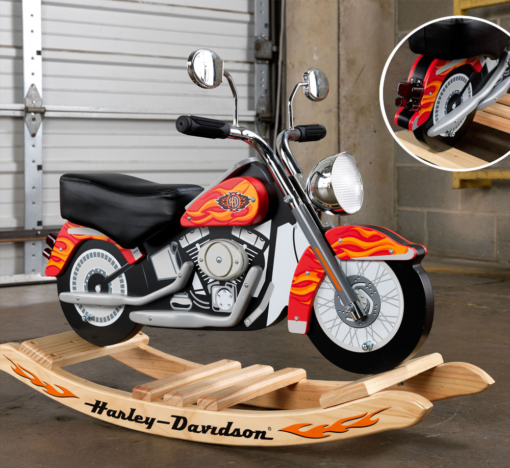 Moto à bascule Harley Davidson