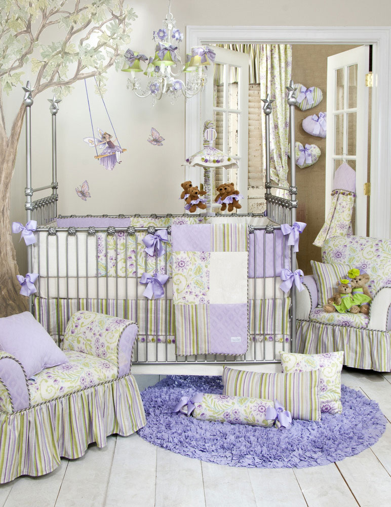 Glenna Jean Viola 4 Piece Crib Set