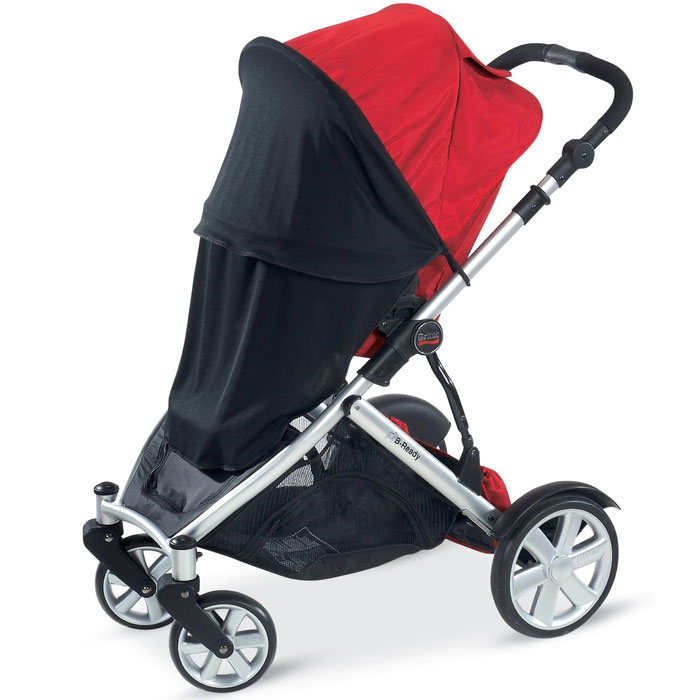 Britax B-Ready UV and Mosquito Net