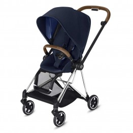 Cybex Mios Stroller (Chrome) Brown