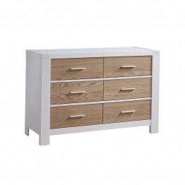 Natart Juvenile Rustico Modeno Double Dresser