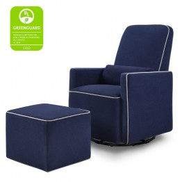 Chaise & Repose-Pieds Olive de Da Vinci