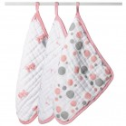 Aden and Anais Scrub Washcloth Set