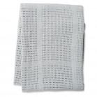 Couverture en Coton Tricotée