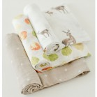 Little Unicorn Cotton Muslin Swaddle Set