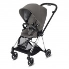 Cybex Mios Stroller (Chrome) Black