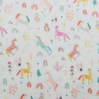 Loulou Lollipop Muslin Fitted Crib Sheet
