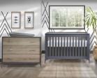 Tulip Juvenile Metro Convertible Crib & Dresser