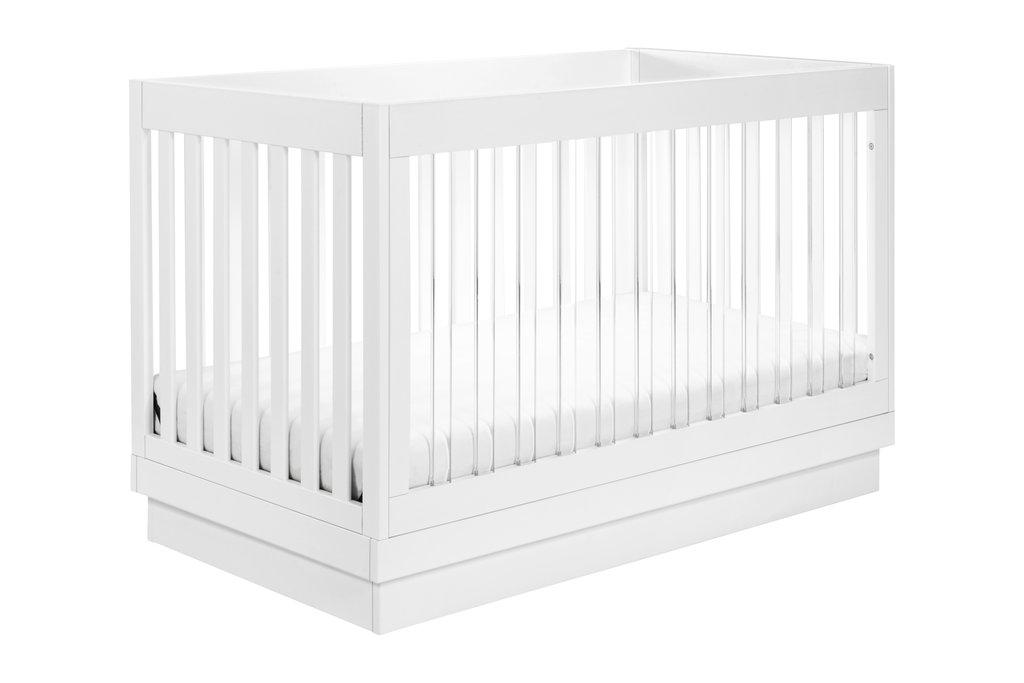 Lit pour bébé Babyletto Harlow 3-en-1 Acrylique et Blanc