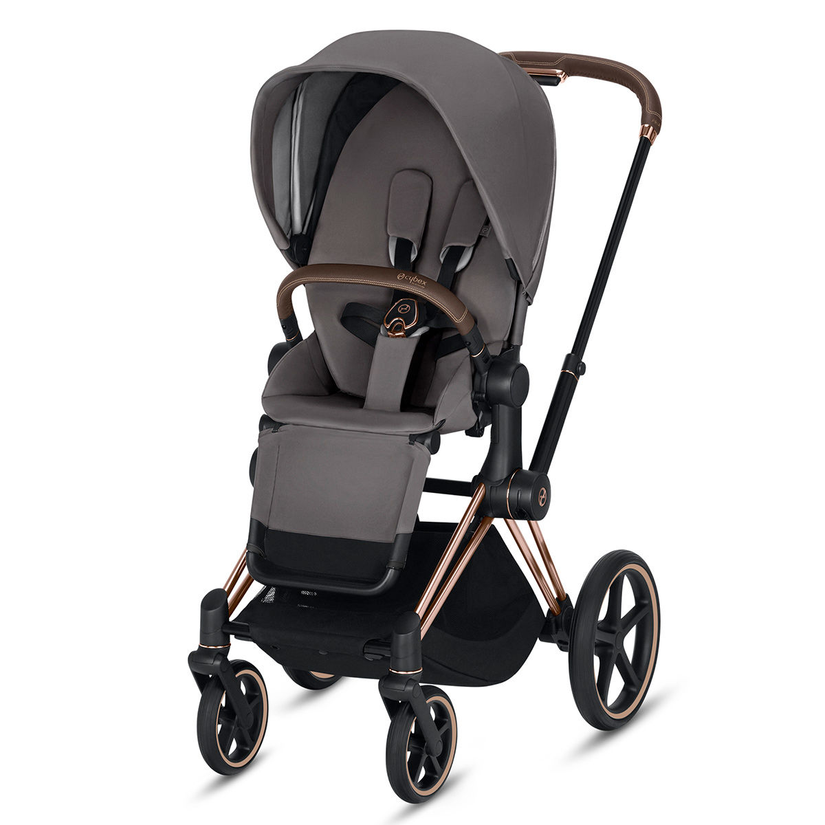 Cybex Priam Stroller (Rose Gold Frame)