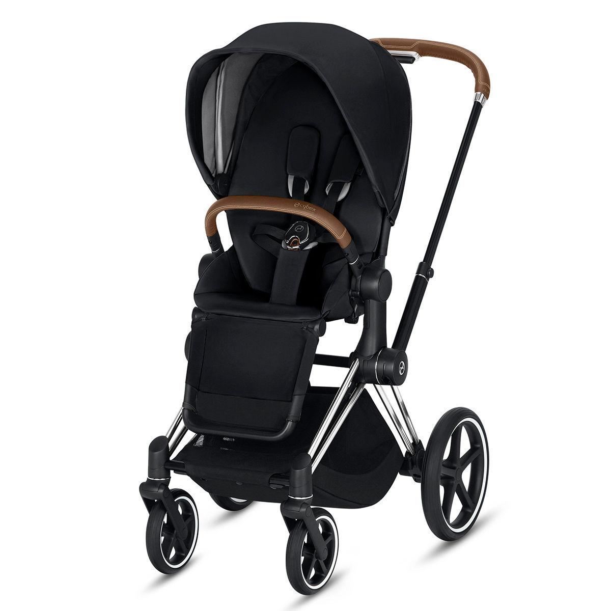 Cybex Priam Stroller (Chrome) Brown