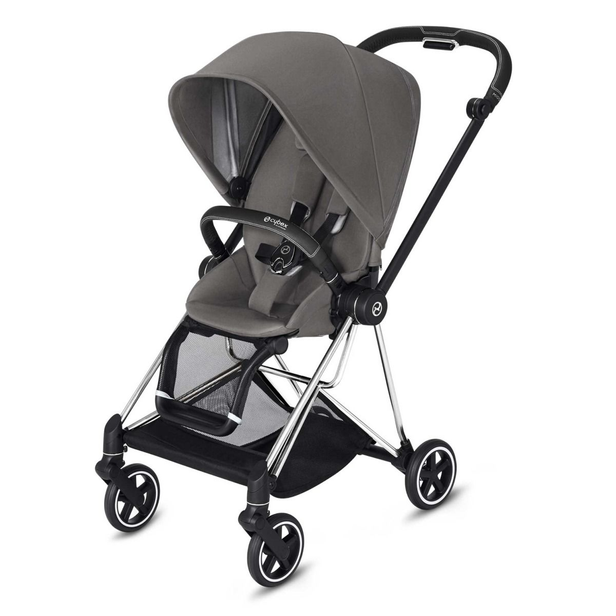 Cybex Mios Stroller (Chrome) Black