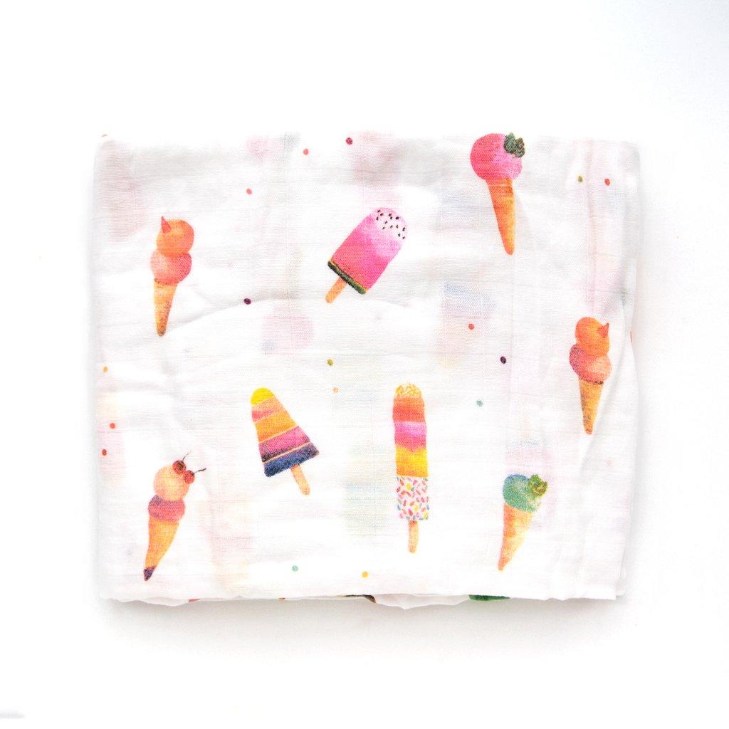 Loulou Lollipop Deluxe Muslin Swaddle