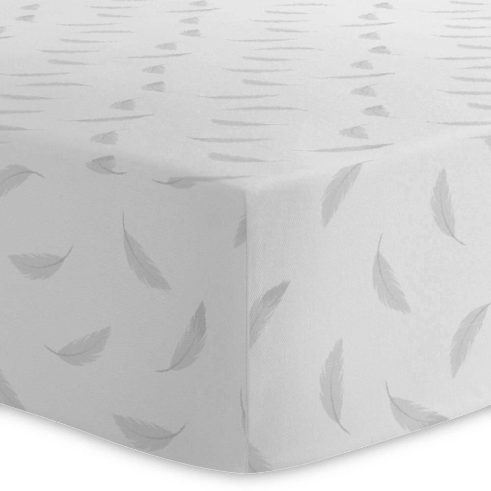 Kushies Flannel Crib Sheet