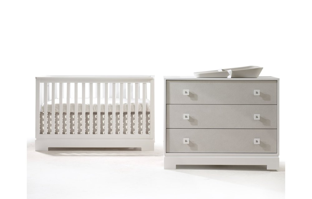 Tulip Olson Convertible Crib & XL Dresser