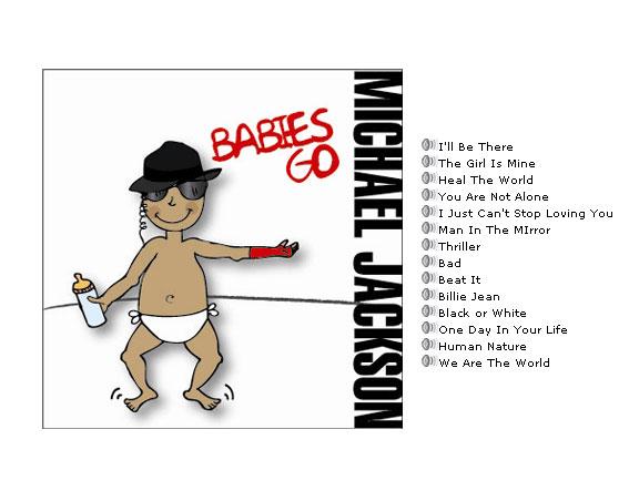 CD Musique pour bébé Babies Go