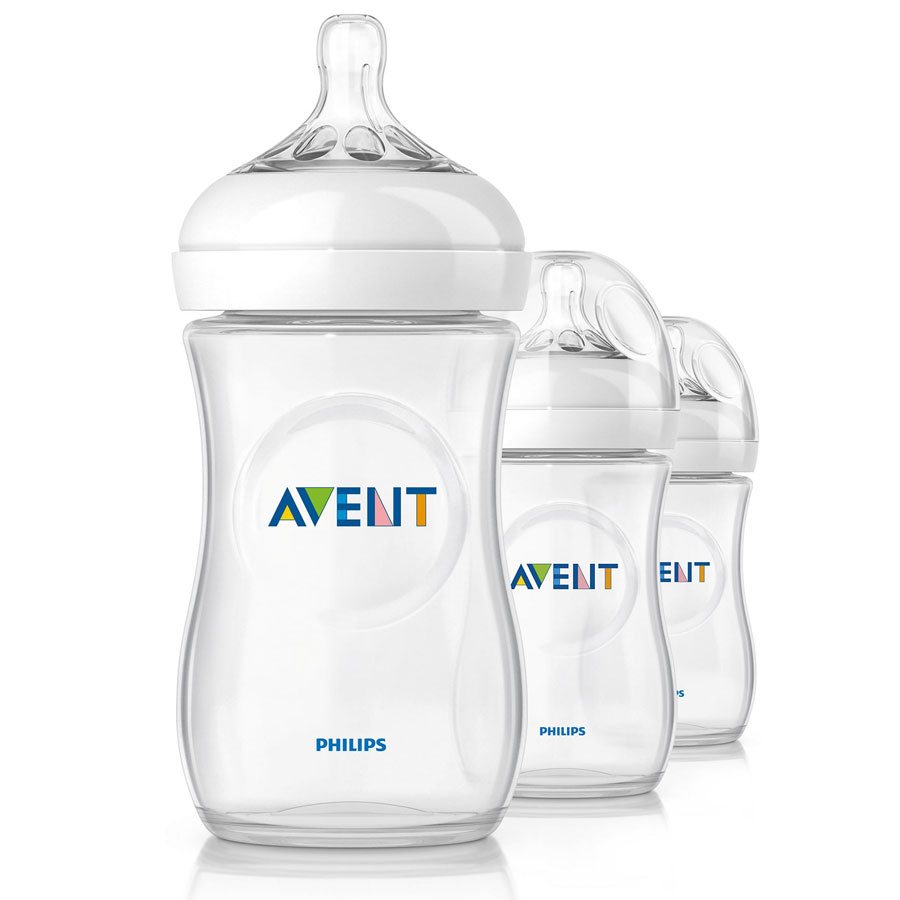 Avent Natural 9oz Baby Bottles