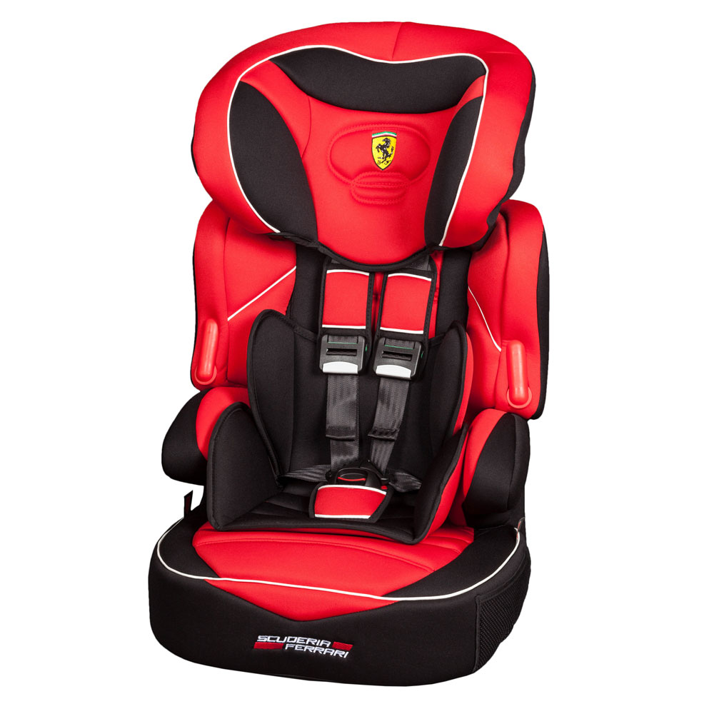 Réhausseur dossier Ferrari avec harnais de Nania
